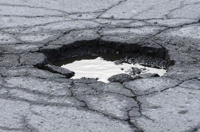 April Pothole Project