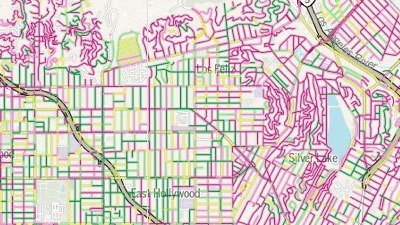 Grading Los Angeles' Streets