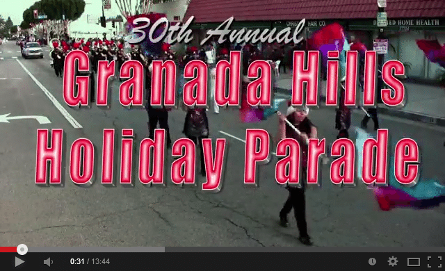 2013 Granada Hills Holiday Parade