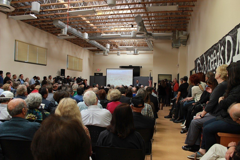 "Hundreds Attend the ""Resilience By Design"" Community Meeting"