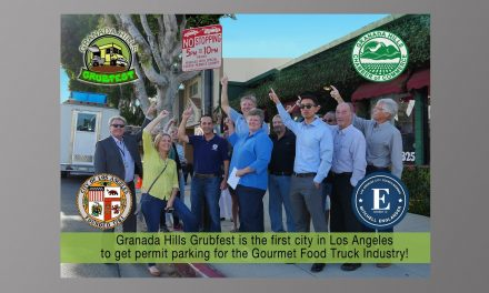 Granada Hills Grubfest Permit Parking Video