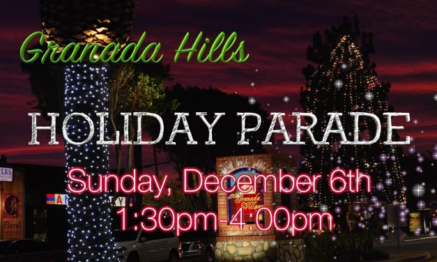 Archived News: Video: Granada Hills Holiday Parade this Sunday, December 5