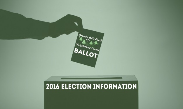GHSNC Election 2016