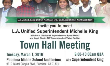 LA Unified Town Hall Meeting