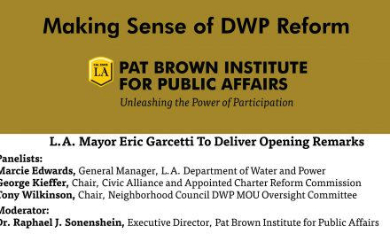 LADWP Reform Forum on Tuesday, March 29th