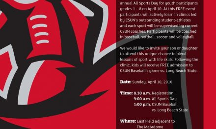 CSUN All Sports Day Free Clinic