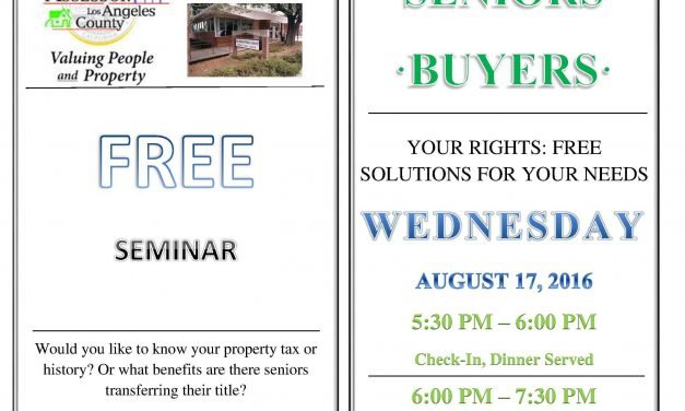 Archived News:GHSNC Business Series Event for Property Owners, Seniors, and Buyers