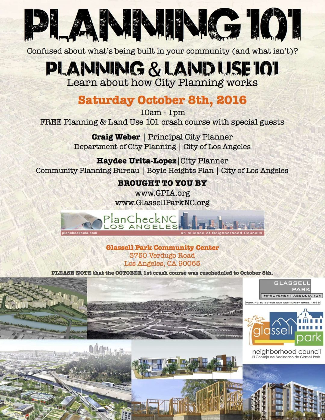 Planning and Land Use 101