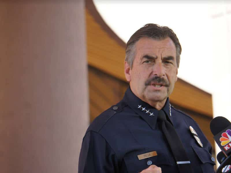 LAPD Chief Charlie Beck Retires Early Following Year of Scandal