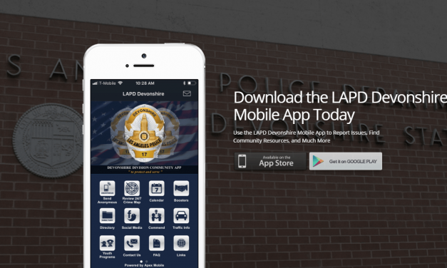 Download the New LAPD Devonshire App