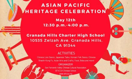 Asian Pacific Heritage Celebration 5/12/18