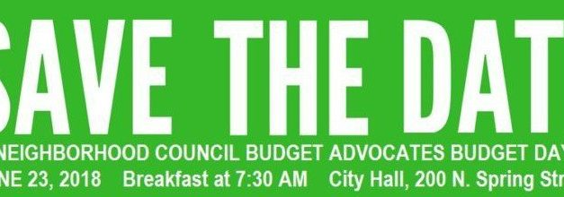 Archived News: Discuss Delivery of City Services in Your Neighborhood at Budget Day June 23rd at City Hall