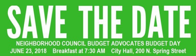Archived News:Discuss Delivery of City Services in Your Neighborhood at Budget Day June 23rd at City Hall
