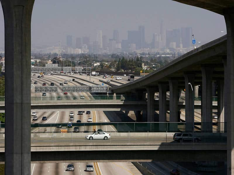 Southland Choked by Unhealthful Air Levels 87 Days Straight