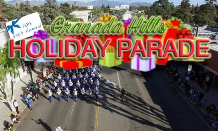2018 Granada Hills Holiday Parade Video