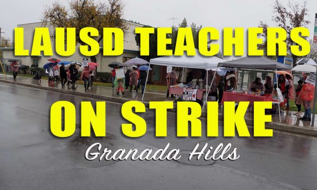 LAUSD Granada Elementary Strike Video