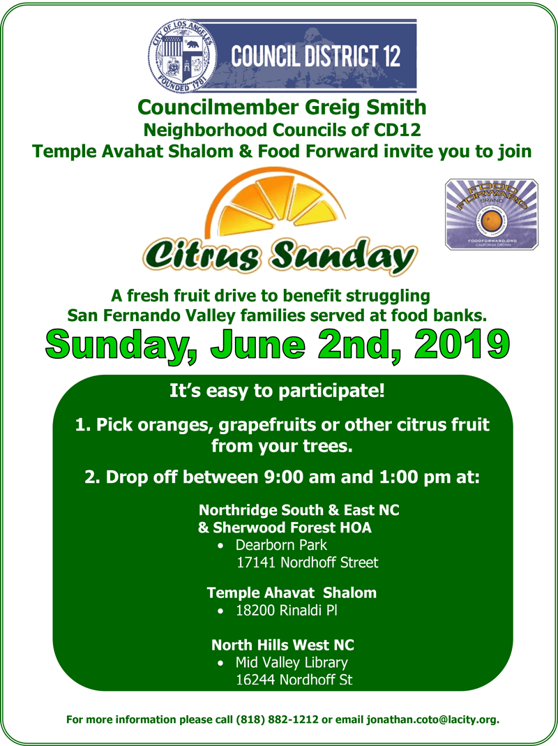 Citrus Sunday – June 2, 2019