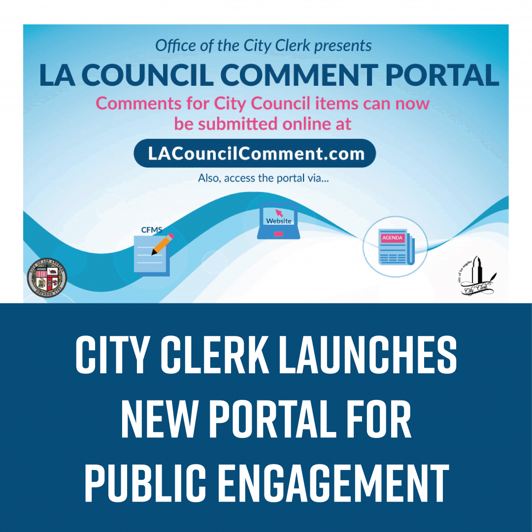 City Clerk Launches New Portal for Public Engagement