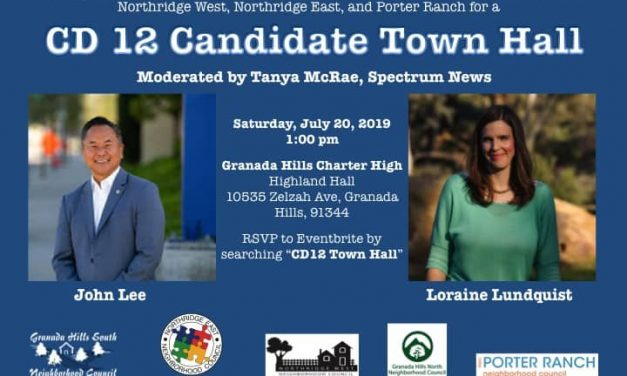 CD-12 Candidate Town Hall