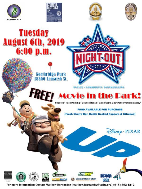 National Night Out 2019 and Movie Under the Stars