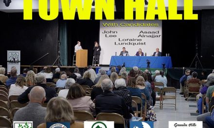 Photos from the CD12 Town Hall