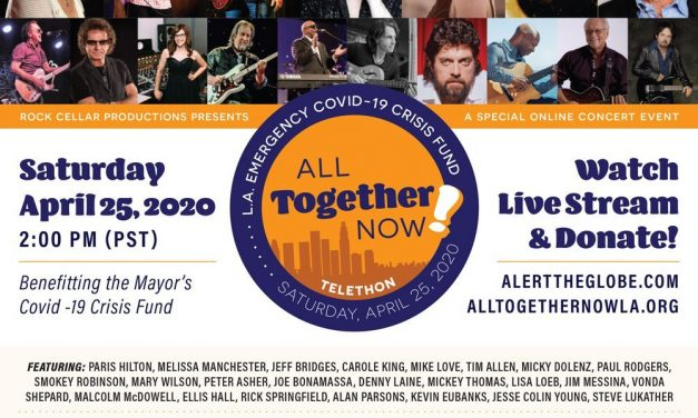 All Together NowTelethon – Saturday, April 25 at 2pm