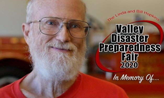 Linda and Bill Hopkins Valley Disaster Preparedness Fair Tomorrow (It's VIRTUAL This Year!)