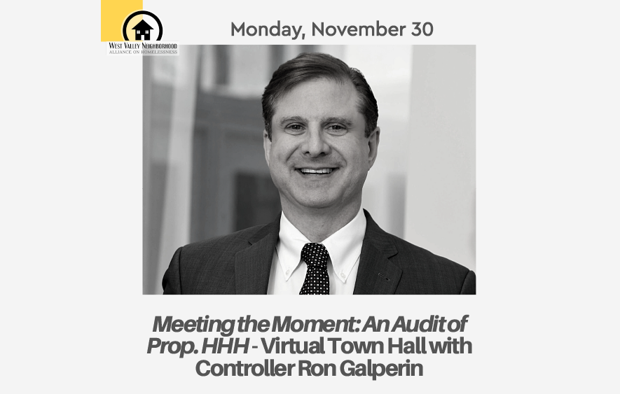 Meeting the Moment:  An Audit of Prop. HHH – Virtual Town Hall with City Controller Ron Galperin