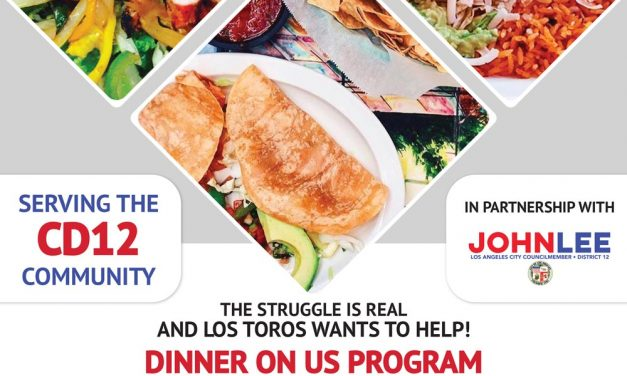 "CD12 Partners with Los Toros for the ""Dinner On Us"" Program"