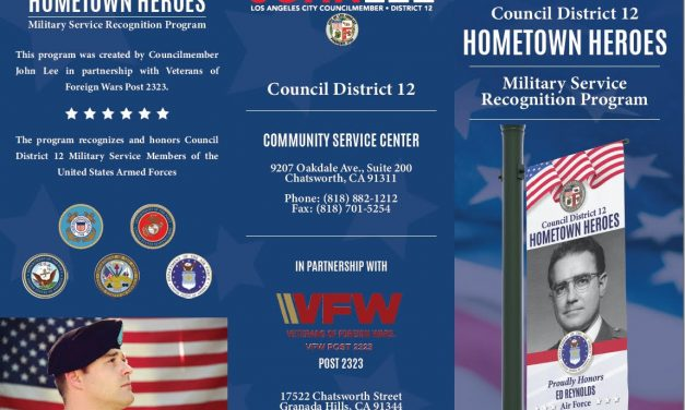 Announcing Council District 12's Military Service Banner Recognition Program